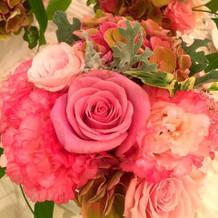 お花は最後持ち帰りができました。