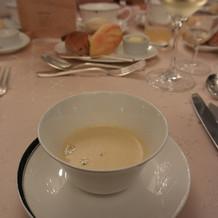 薩摩芋のスープ