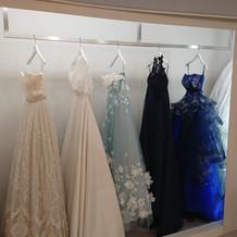 色々な衣装から選べました。