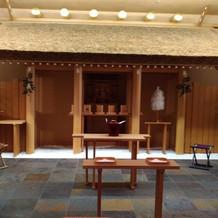 熱田神宮のご分れいを受けている。
