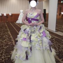 絢ちゃんドレス