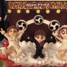 ケーキもイメージ通りで完璧でした!