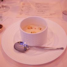 大好評のスープ