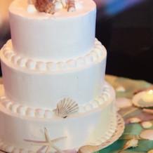 ケーキはなるべくシンプルに
