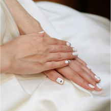 花嫁ネイル