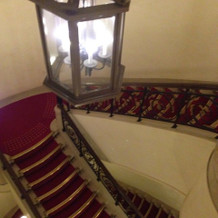 前撮りプランの階段