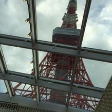 チャペルからみた東京タワー