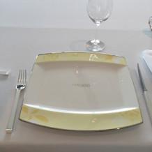 お皿がかわいかったです