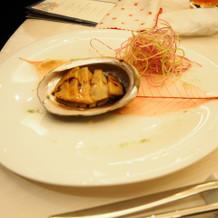 15,000円コースの魚料理