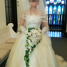 持ち込むドレスは別途10万円かかる