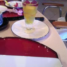 デザートでボリュームがありました。