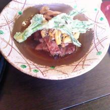 メインの肉です。やわらかいです。