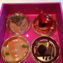 デザート4種類
