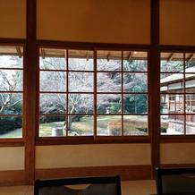 窓が大きく外がよく見えます