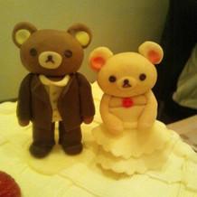 ケーキの飾り