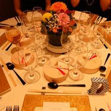 とっても素敵なテーブルコーディネート