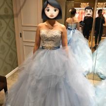 シンデレラ風フワフワドレス