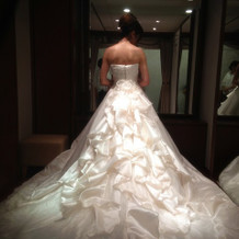素敵なウェディングドレス♪