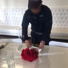 お花屋さんが丁寧に教えてくれました。
