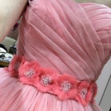 悩んだカラードレス!本当に可愛かった!