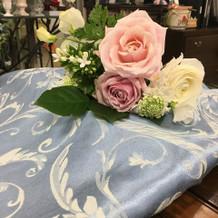 お花の打ち合わせ