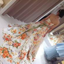 一点物のドレスもあり良かったです。