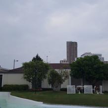 曇りの時の景色