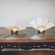 扇子作品の展示