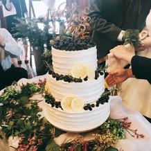 希望通りのケーキで感動!!