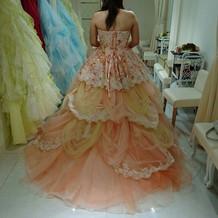 当日カラードレス