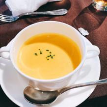 季節のスープは季節で違うので良かった