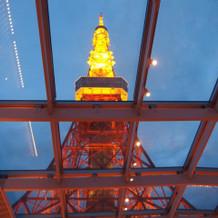東京タワーは圧巻