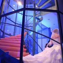 螺旋階段も魅力的です!