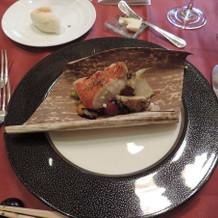 魚料理もおいしかったです。