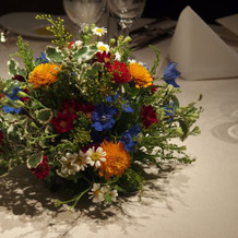 素朴な感じのお花が素敵でした