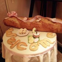 本物の大きなパン