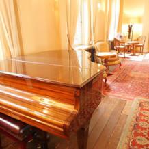 可愛いピアノもありました