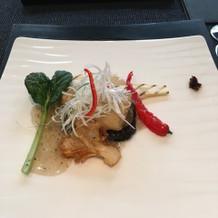 和洋中折衷の中華で美味しかった