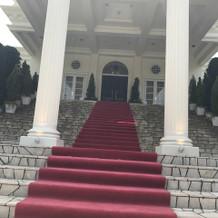 憧れの大階段は初めて見ました。