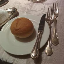 パンはふわふわでバターがフレッシュ