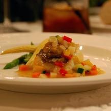 野菜とお肉