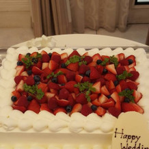 さっぱりとしていて美味しいケーキ