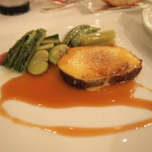 牛フィレ肉のロティーの黄金焼き