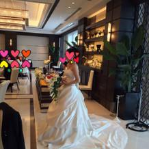 一目惚れのウエディングドレス
