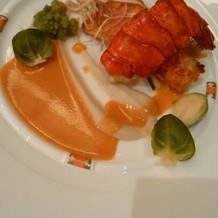 ラコントル 魚料理
