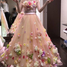 ピンクアリッサ(35万円)お花が可愛い
