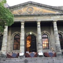 歴史的建造物の外観