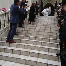 大階段が素敵です