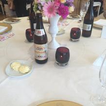 可愛いテーブル造花