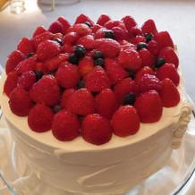 壁面おしゃれケーキ